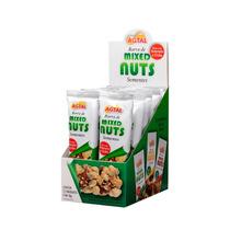 Barra De Mixed Nuts Sementes - Caixa Fechada Com 6 Displays