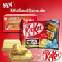 Kit Kat Cheesecake Que Vai Ao Forno-13 Barras! Pronta Entreg