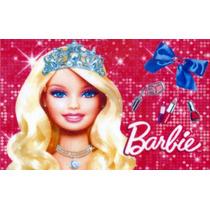 Barbie - Papel Arroz Para Bolo Tam A4 - Mod. 1