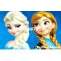 Frozen - Elsa E Anna - Papel Arroz Para Bolo Tam A4 - Mod. 5