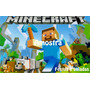 Minecraft - Papel Arroz Para Bolo Tam A4 - Mod. 3