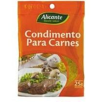 Tempero Para Carnes Importado Argentina Alicante 25g
