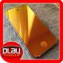 Tela Lcd E Traseira Iphone 4 E 4s Dourada Rosa Azul Cromada