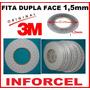 Fita Adesiva 3m Dupla Face 1,5mm 50mts P Reparo Touchscreen