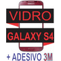 Vidro Tela Visor Galaxy S4 I9400 Vermelho + Adesivo 3m