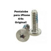 02 Pares De Parafusos Originais Pentalobe Iphone 4 4g 4s