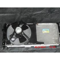 Conjunto Radiador Corsa 96/09 Classic Com Ar Condicionado