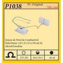 Sensor De Nível De Combustível Palio 1.5 99 Até 02 Alc/gas