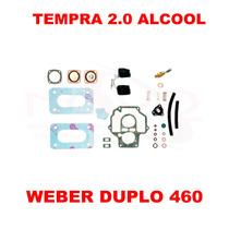 Kit Reparo Carburador Tempra 2.0 Alc Weber Duplo 460