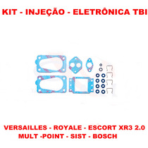 Kit Reparo Injeção Eletr Tbi Escort Xr3/versai 2.0 4-bicos