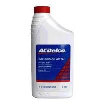 Oleo Acdelco 20w-50 Api Sj Original Gm Cod Original 93291384