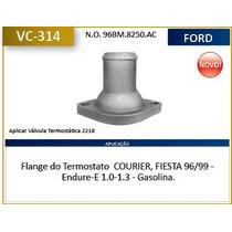 Flange Do Termostato Courier , Fiesta Motor 1.0 , 1.3 Endure