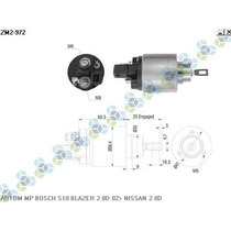 Automatico Motor De Partida Bosch S10 Blazer 2.8d 02/...