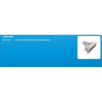 Tomada Eletrica Macho 6 Plugs Corpo Em Alumínio 3505457026
