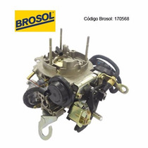 Carburador Brosol 2e Alcool 170568 Escort 1.8 90/92 Alcool