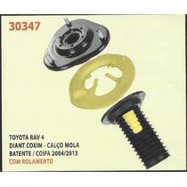 Kit Do Calço De Mola Dianteiro Toyota Rav4 04 A 13 [coxim -