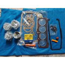 Kit Motor Pistao Anel Jg De Junta Motor Ap 1.8 Alcool Std