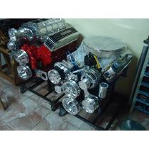 Kit De Polias Poly-v Para Motor Ford 302