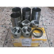 Kit Motor Pistão+camisa+segmento Corcel Belina 1.4 Gas Std