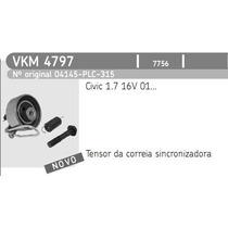 Kit Tensor + Correia Dent + Ac + Dh Honda Civic 1.7 16v
