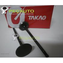 Válvula De Escape Peugeot 206 E 207 1.4 8v Gasolina E Flex