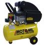 Compressor De Ar Motomil, 2hp, 24 Litros - Cmi-7,6/24l -110v