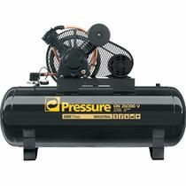 Compressor De Ar 20 Pés 200 Litros Motor Trifásico -pressure