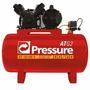 Compressor De Ar 10 Pés 100 Litros Mono 110v Pressure