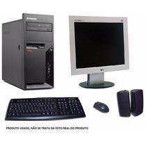Computador Completo Lenovo Intel Dual Core 2gb Hd500 Dvd-rw