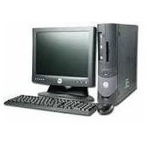 Computador Completo Dell Optiplex P4/celeron + Monitor Lcd