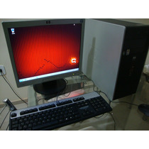 Computador Hp Amd Phenom X4quad-core Hd 250 Sata/4gb+lcd 17