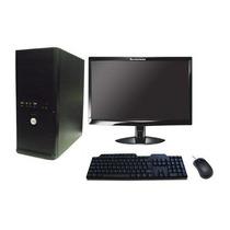 Computador E Monitor Lcd 19 + Teclado + Mouse ( Novo )