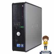 Desktop Dell Optiplex 780 Sff Core 2 Duo 3.0ghz, 4gb, 250gb