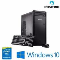 Computador Positivo Celeron J1800, 4gb, 320hd - Dr3540