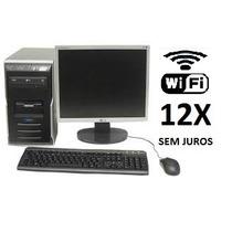 Computador + Monitor Usado Completo Garantia E Nf