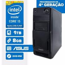 Visage Pc(core I5 4440/8gb Ram/hd 1tb/dvd-rw/mb Asus Linux)