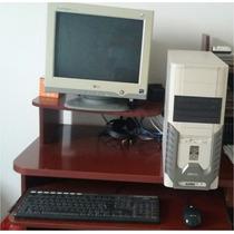 Computador Athlon 64 3000+ Monitor Lg 17+ Impressora Hp 640c