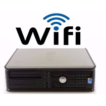 Pc Cpu Dell Optiplex 4 Gb De Mb ,hd 320 Sata , Wifi F/grátis