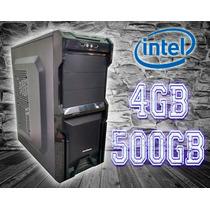 Cpu Core2duo/ 4gb/ 500gb/ Dvd/ Gab