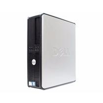 Cpu Dell Mini Optiplex 320 Dual 2gb Hd 160gb + Teclado Mouse