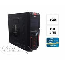 Cpu Core I5 Placa Mãe Gigabyte Memória 4gb Hd 1000gb Dvdrw