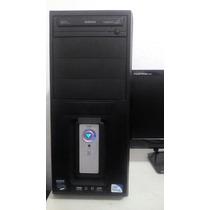 Computador Intel Dual Core E5700 Completo Monitor Lcd 500gb
