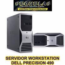 (0471) Servidor Cpu Dell Precision 490