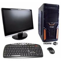 Pc Gamer Completo 1 Tb / 8gb / Monitor 19 Frete Grátis