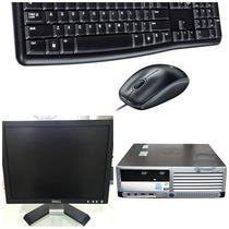 Cpu Completa Hp Dc7600 P4/ 1gb Hd 80gb + Monitor Dell 15