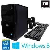 Pc N3 Intel Core I7 4770 3,40ghz ,8gb,1tera Hd, Frete Gratis