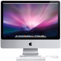 Apple Imac Tela 24 Core 2 Duo /3.06/4gb/1tb/nv512/sd/mse/kb