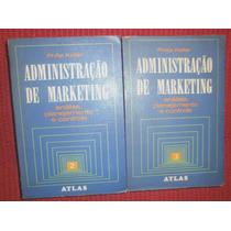Promoção -2 Livros Administração E Marketing - Philip Kother
