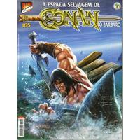 152 Rvt- Revista Hqs A Espada Selvagem Conan O Bárbaro N 185