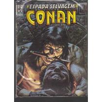 A Espada Selvagem De Conan N 4 - Editora Abril Jovem
